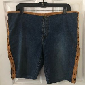 Jordache Vintage jean shorts handcrafted